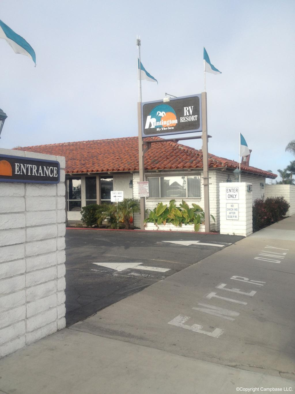 Huntington By The Sea Rv Park Huntington Beach California