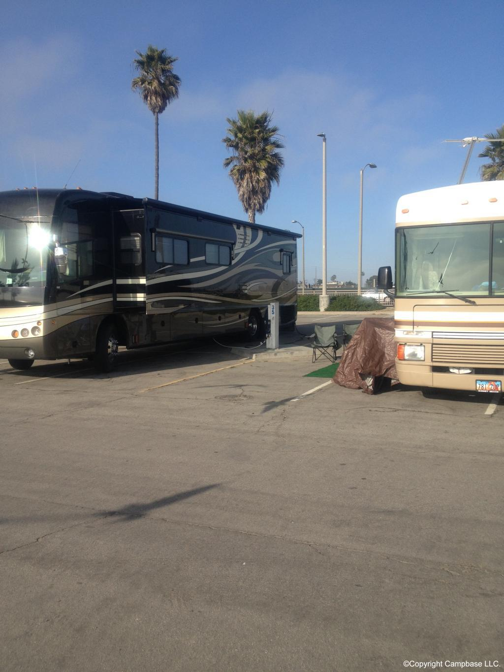 Sunset Vista Rv Camping Facility Huntington Beach California