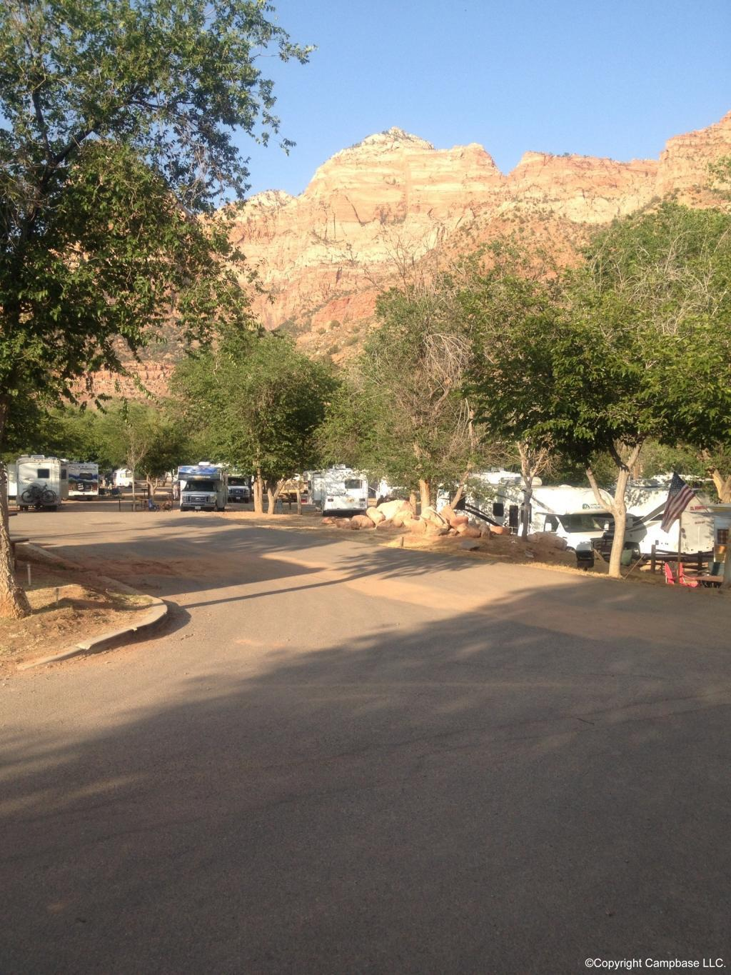 Zion Canyon Campground And Rv Resort Springdale Utah