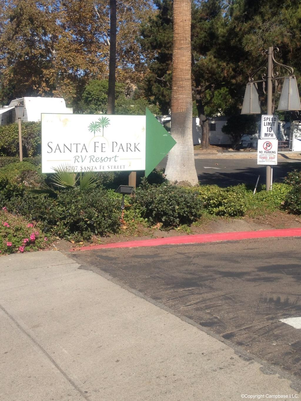 Santa Fe Park Rv Resort San Diego California