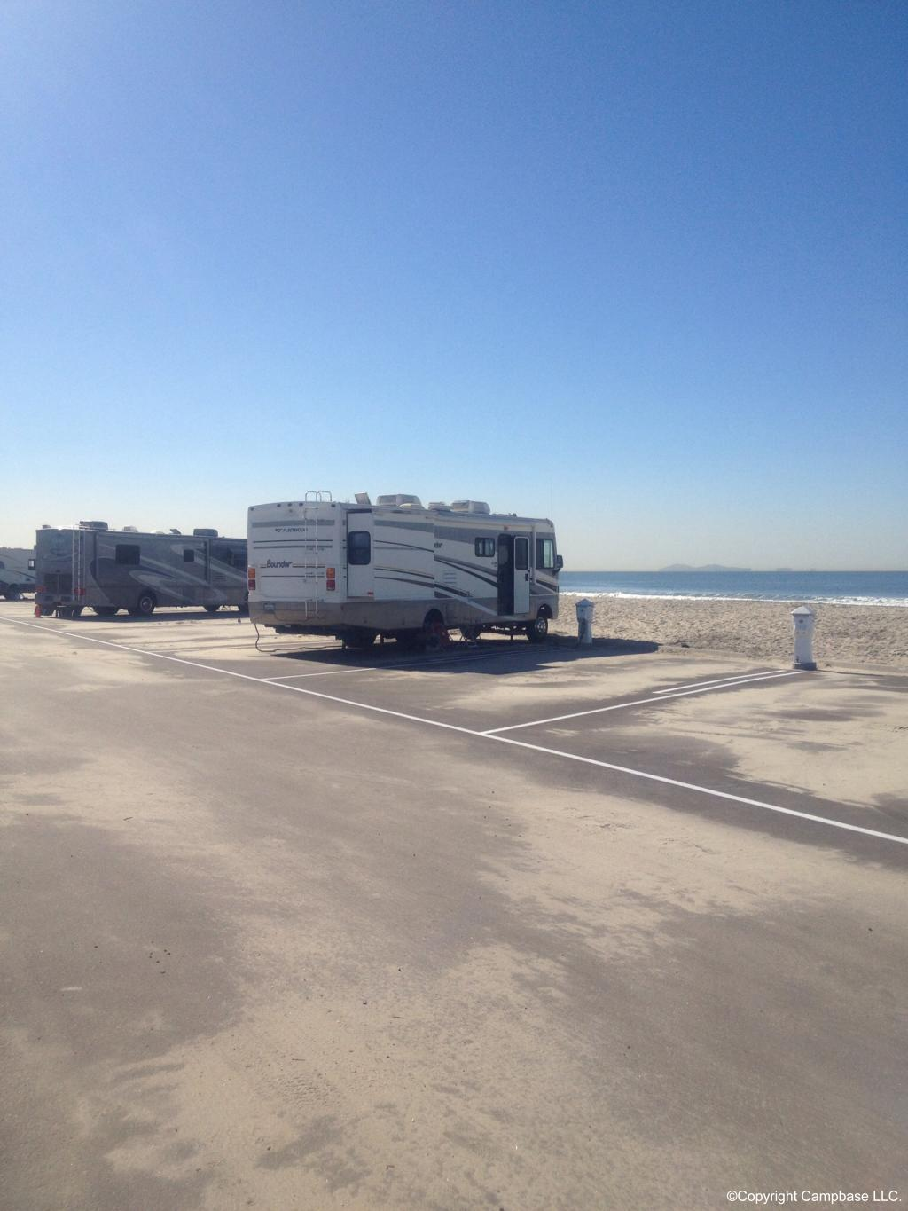 Silver Strand State Beach Campground Coronado California