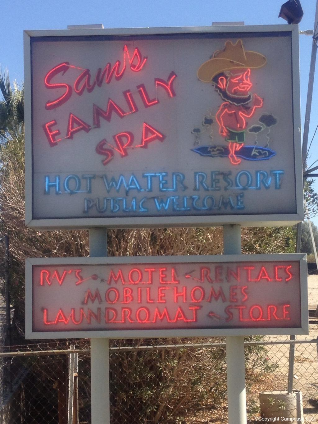 Sams Family Spa Hot Water Resort Desert Hot Springs