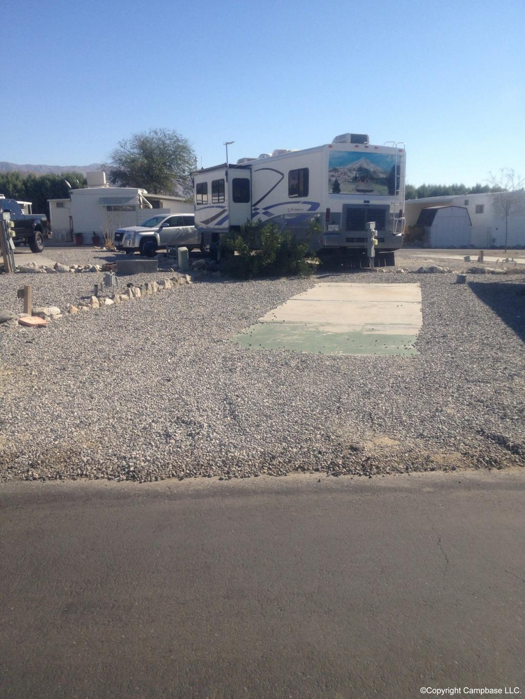 Oasis Hot Springs Mobile Home And Rv Park Desert Hot