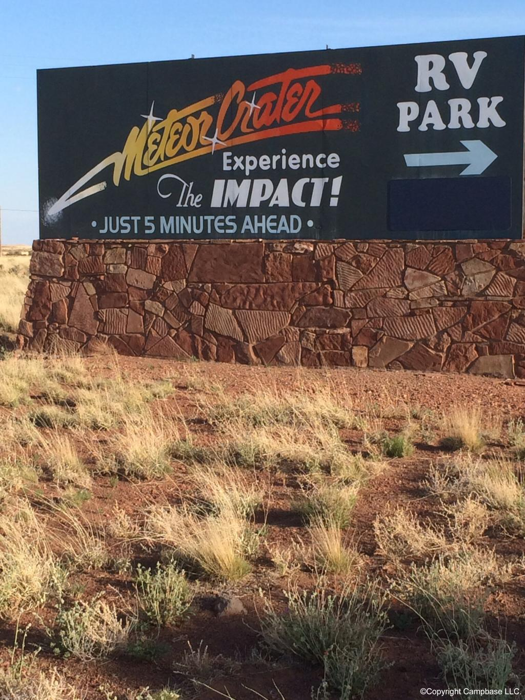Meteor Crater Rv Park Winslow Arizona