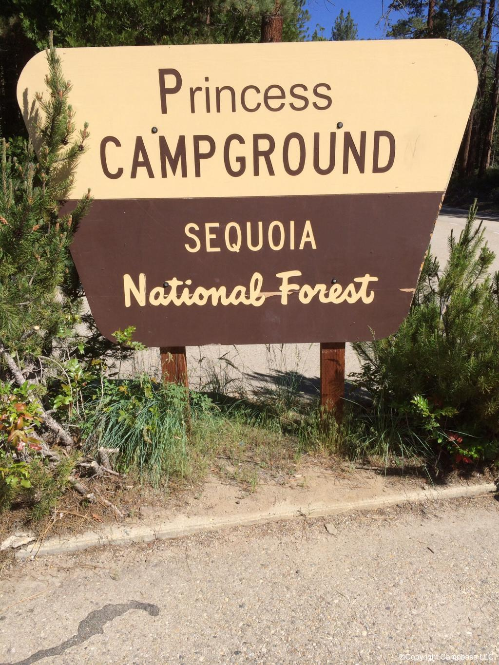 Princess Campground Sequoia Np Three Rivers California