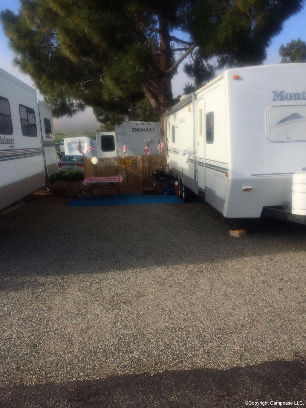 Bay Pines Travel Trailer Park Morro Bay California