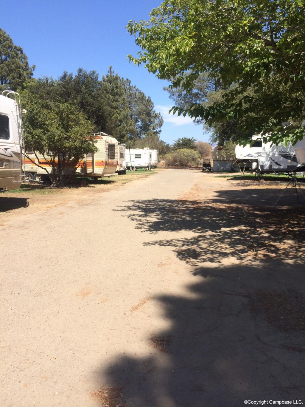 Santa Maria Pines Campground Santa Maria California