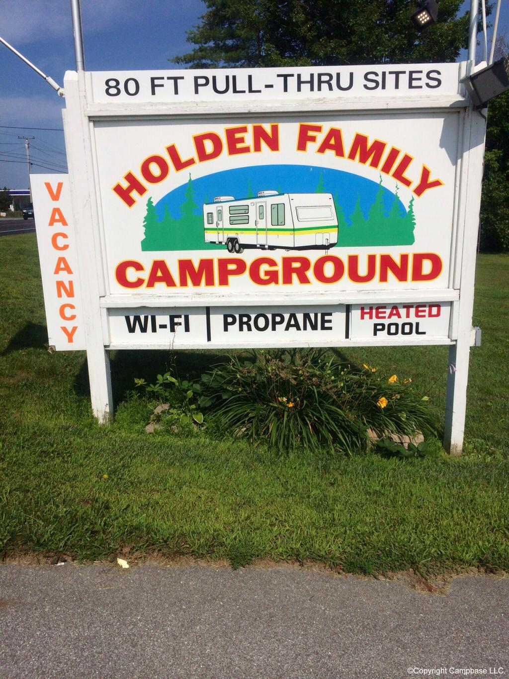 Holden Family Campground Holden Maine