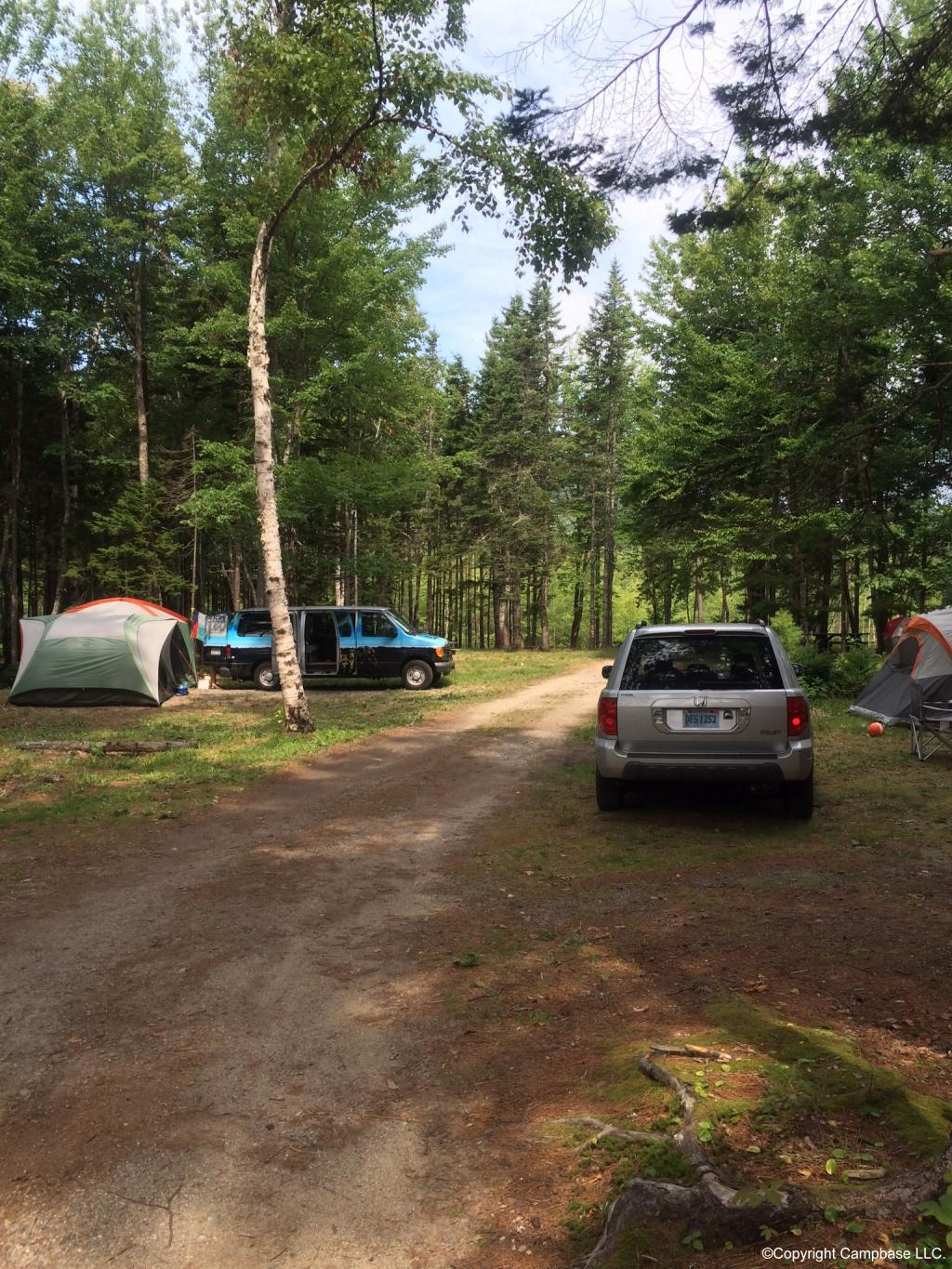 Smugglers den campground southwest harbor maine for Nearby campgrounds with cabins