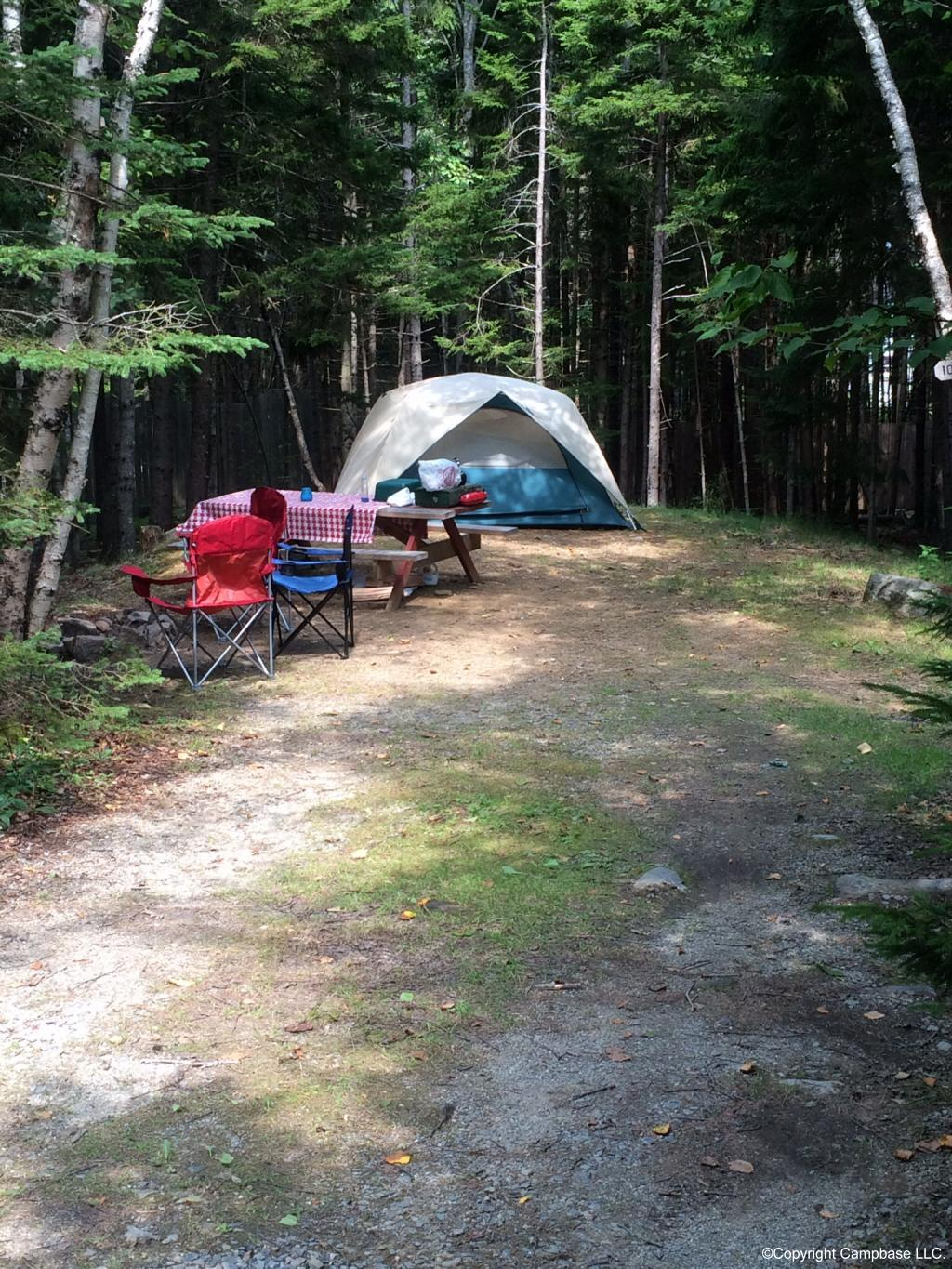 Bass Harbor Campground Bass Harbor Maine