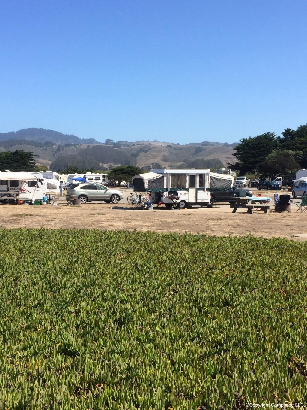 Francis Beach Campground Half Moon Bay California