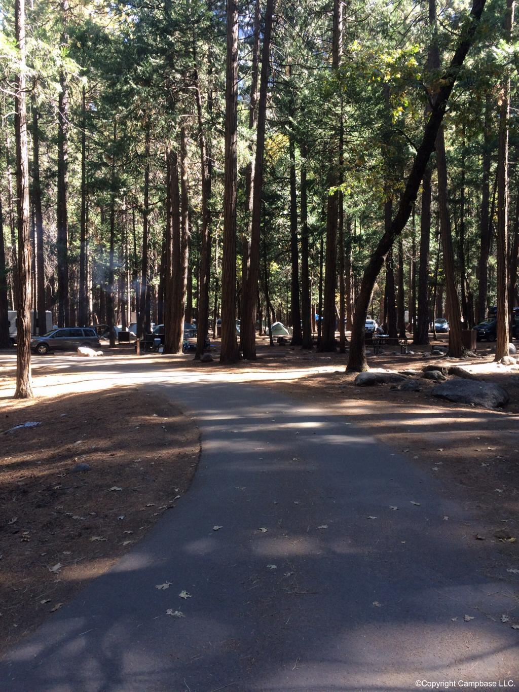 Upper Pines Campground Yosemite Np Yosemite National Park
