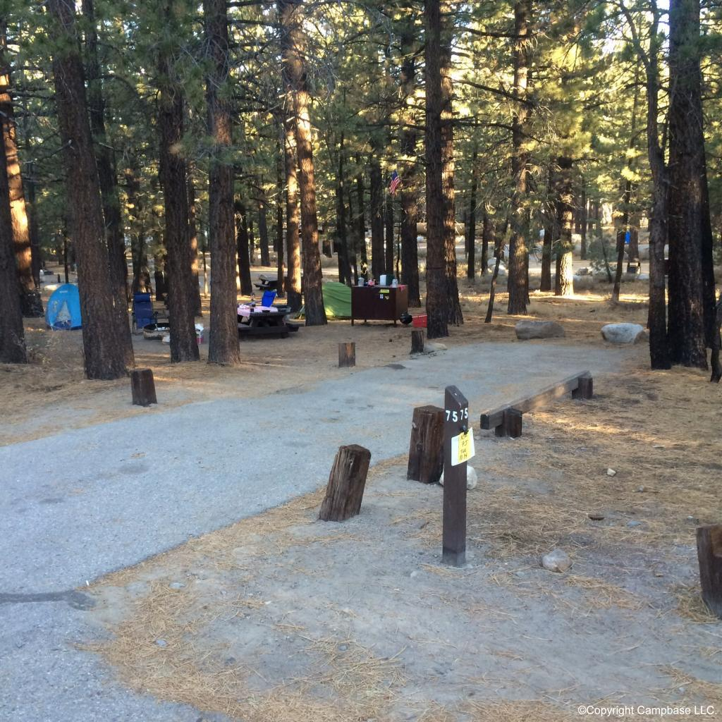 New Shady Rest Campground Mammoth Lakes California