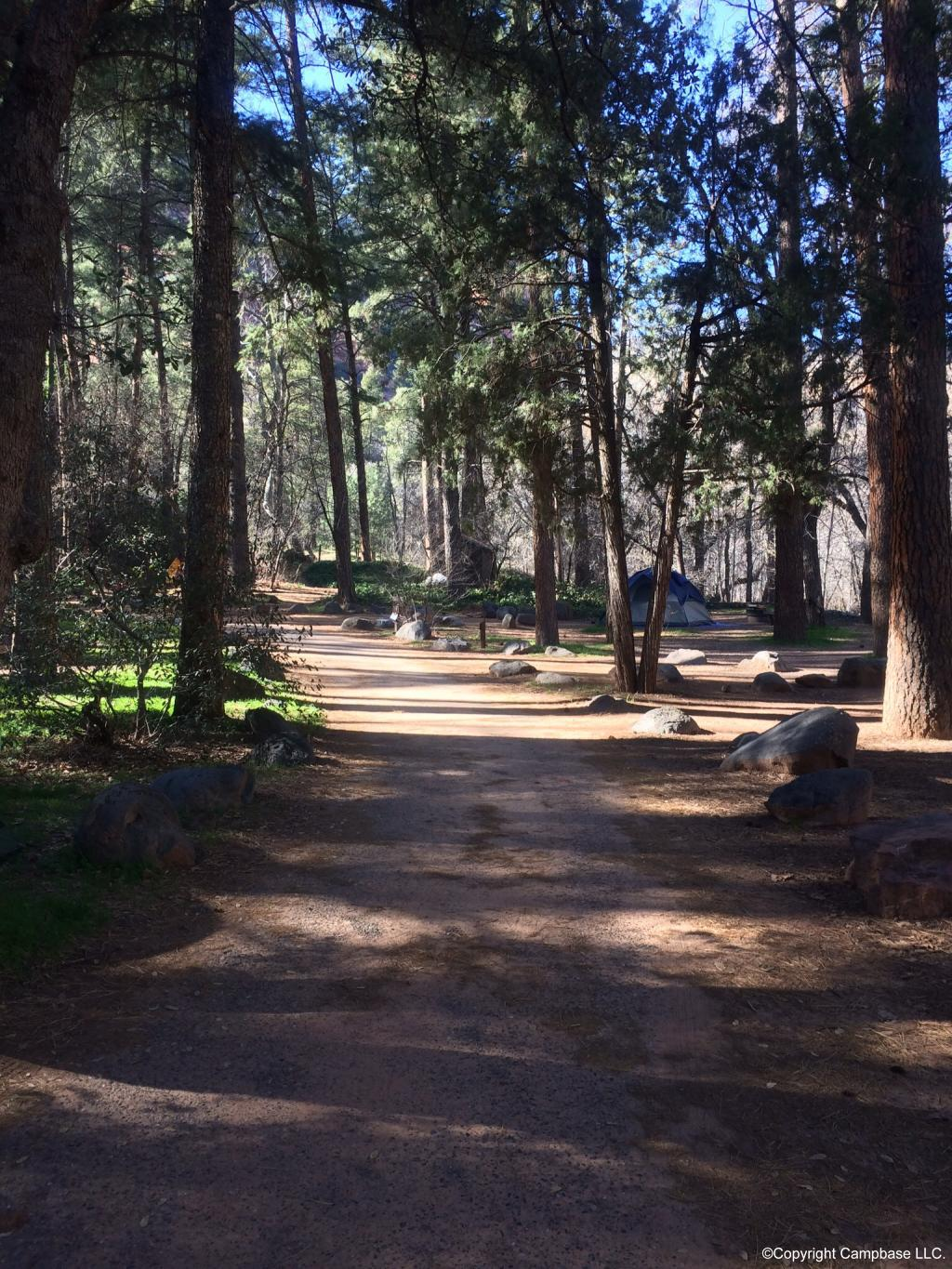 Manzanita Campground Coconino Nf Sedona Arizona