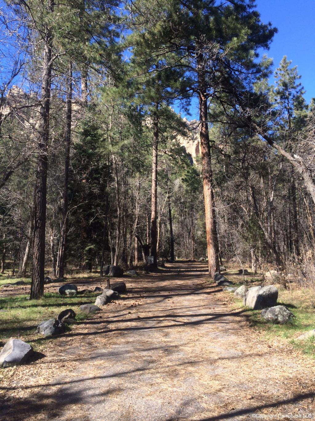 Cave Springs Campground Coconino Nf Sedona Arizona