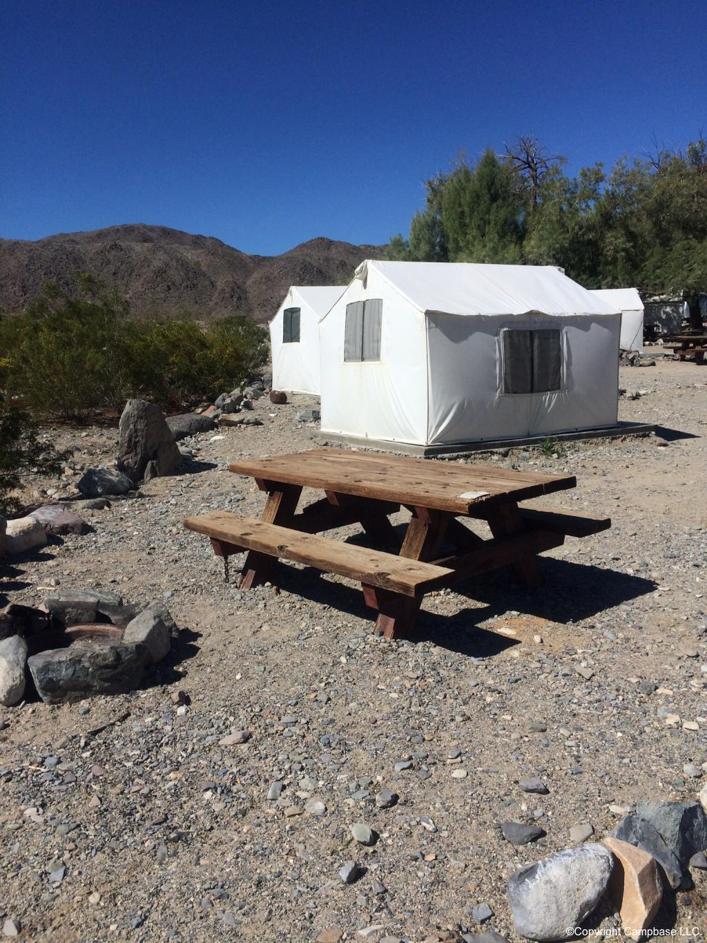 Panamint Springs Resort Campground Death Valley California