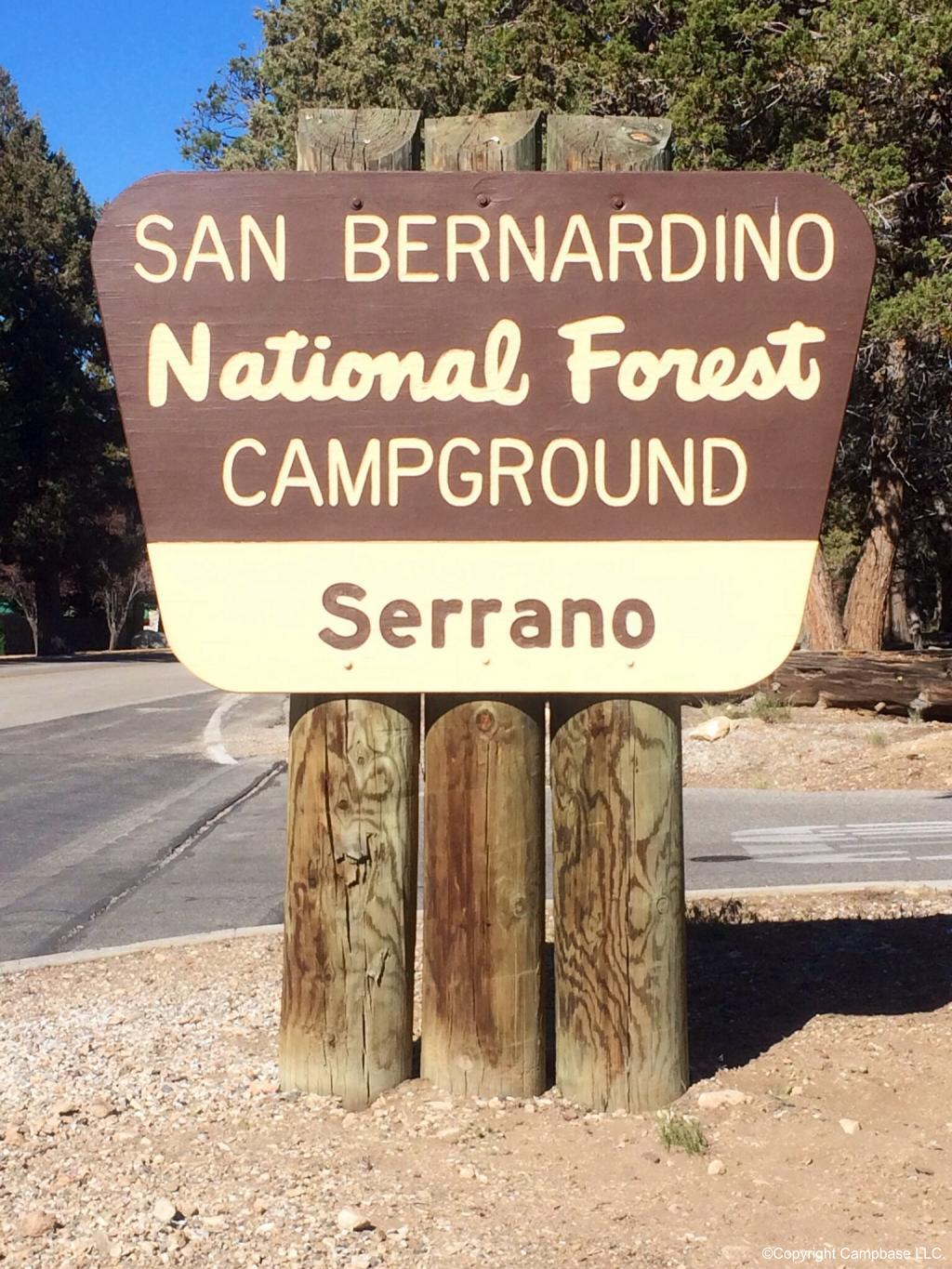 Serrano Campground Fawnskin California