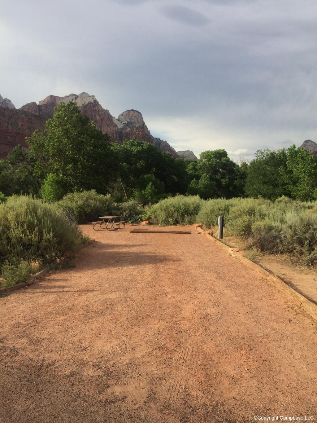 Watchman Campground Zion National Park Springdale Utah
