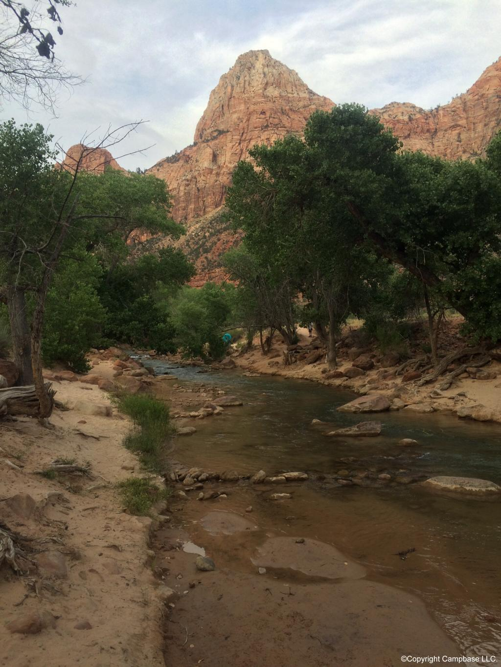 South Campground Zion National Park Springdale Utah