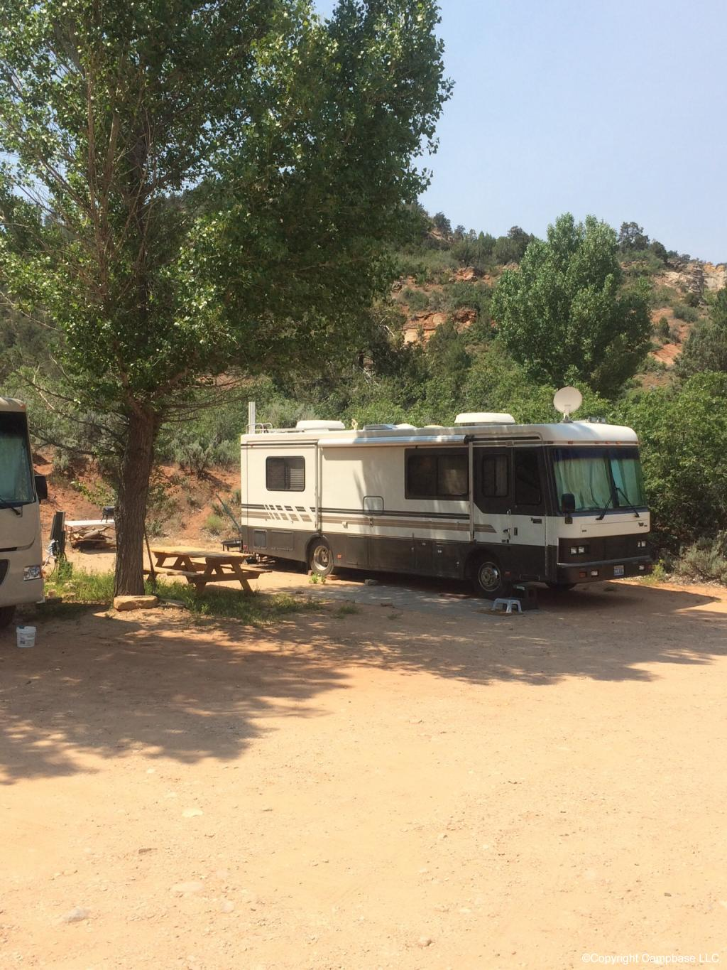 Zion Rv And Campground Mt Carmel Utah