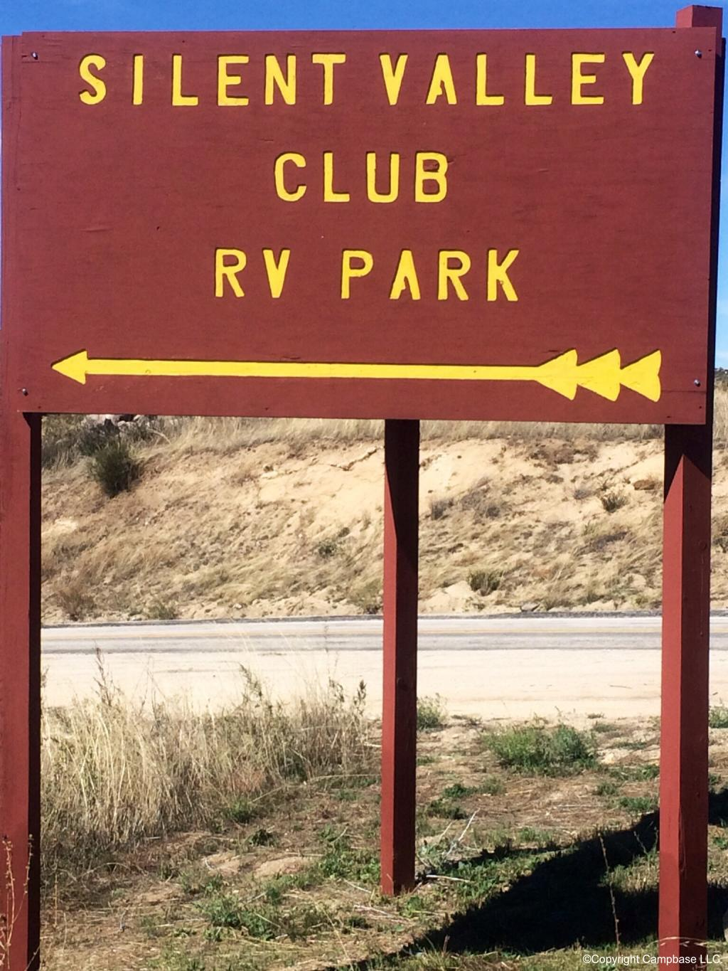 Silent Valley Club Rv Resort Banning California