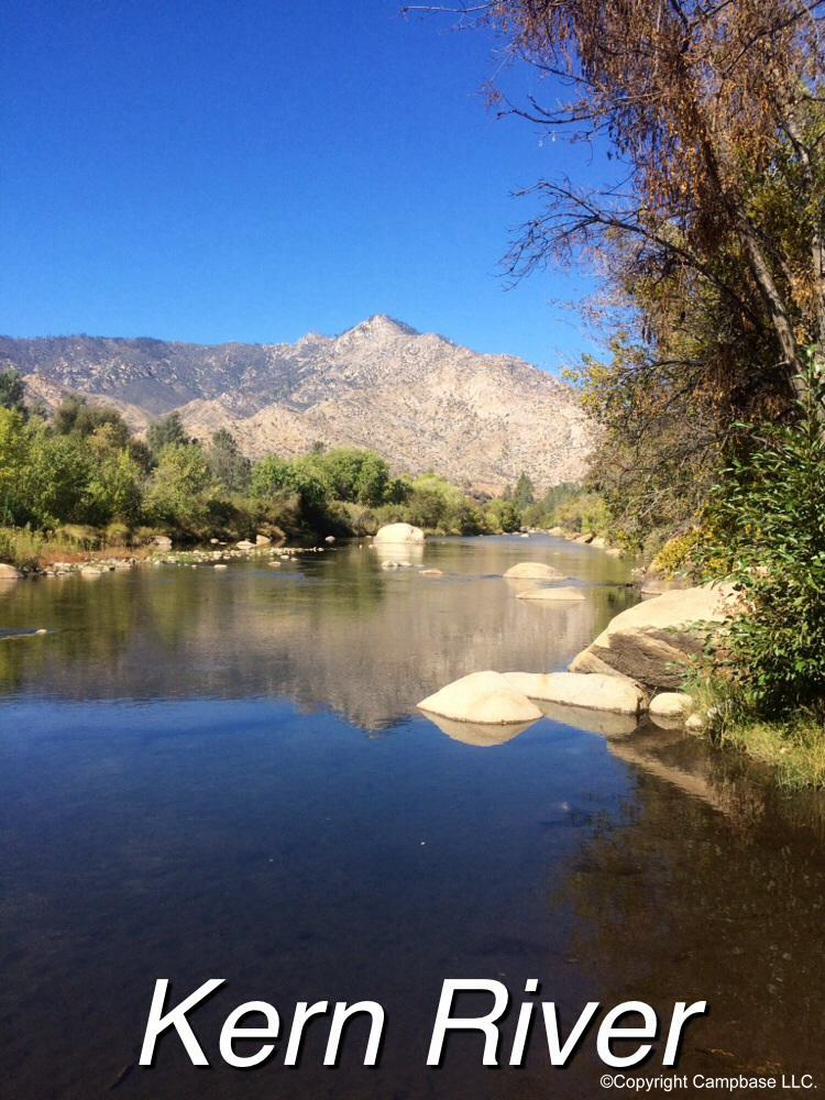 Live oak north campground wofford heights california for Kern river fishing spots