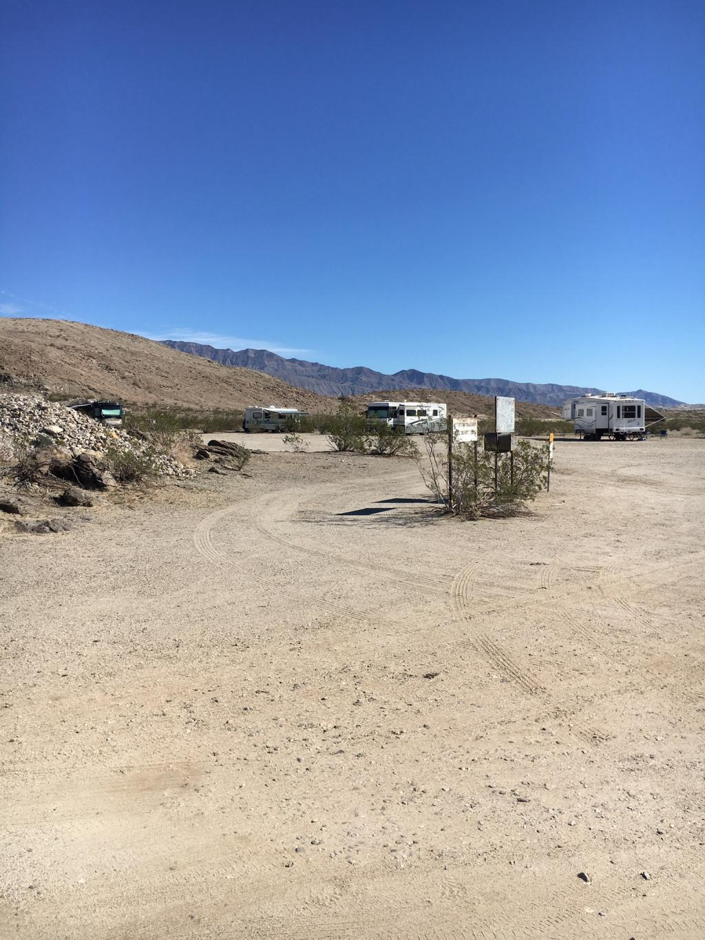 Peg Leg Campground Anza Borrego Desert Borrego Springs