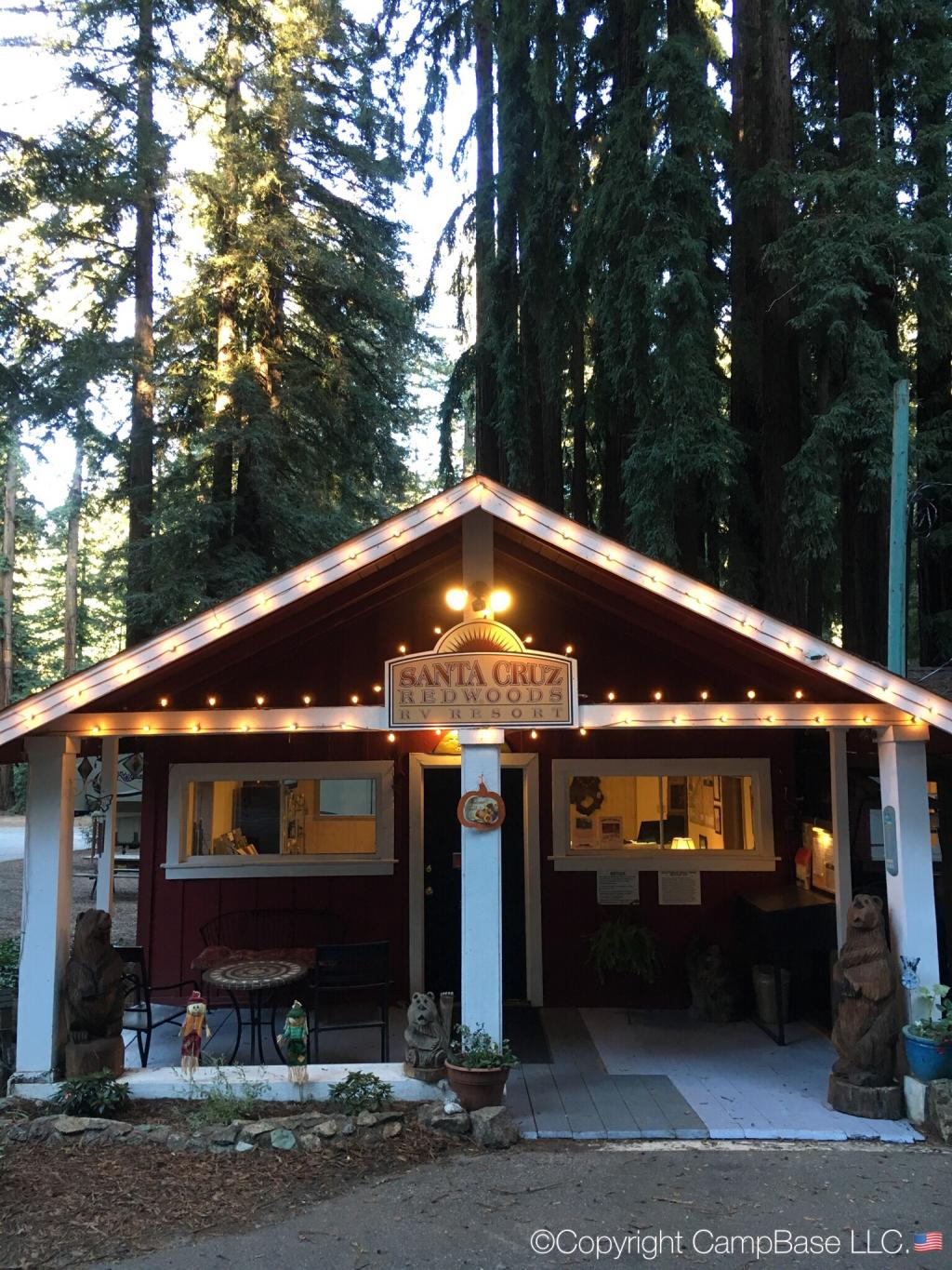 Santa Cruz Redwoods Rv Resort Felton California