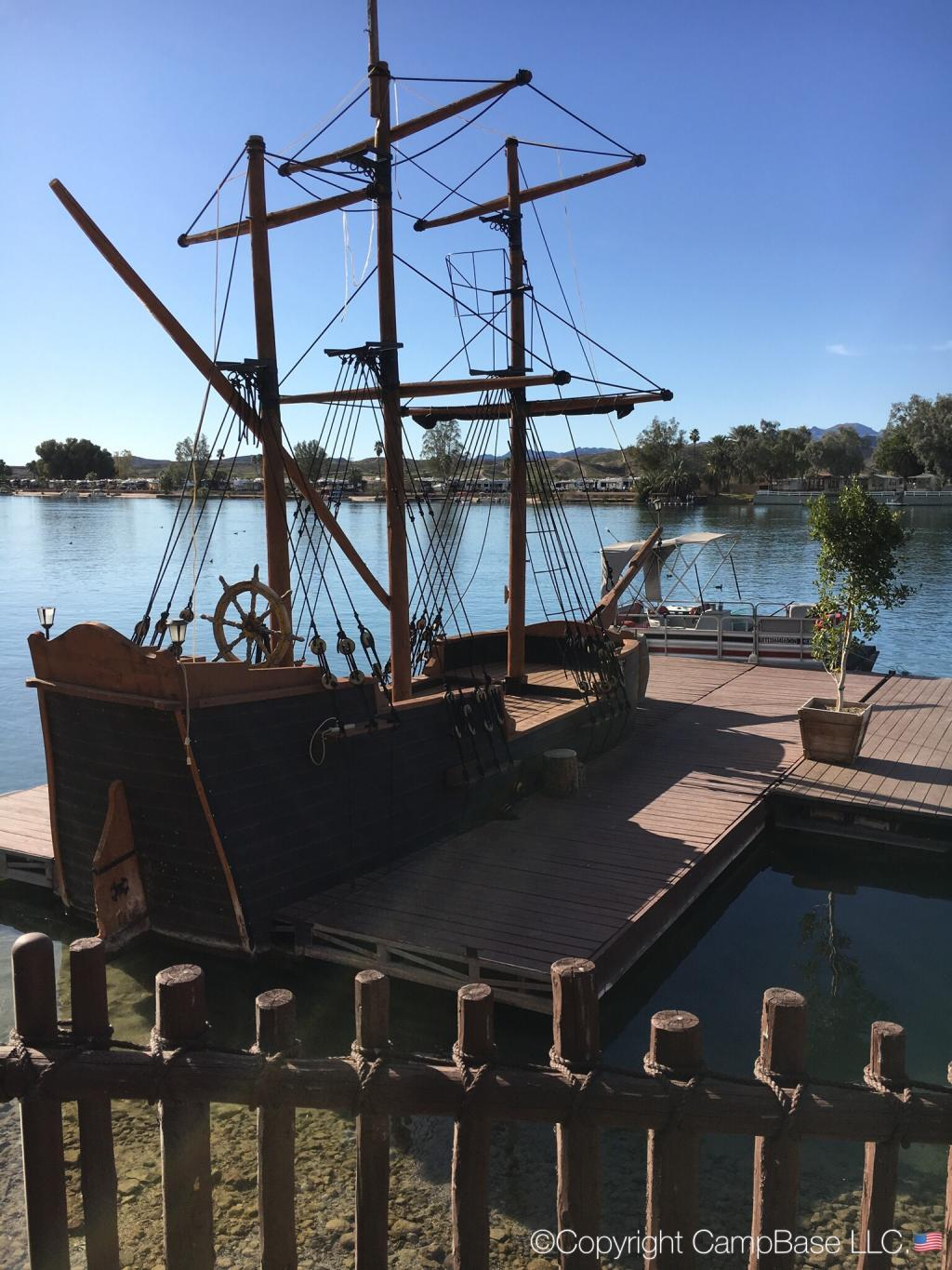Pirates Den Resort Parker Arizona