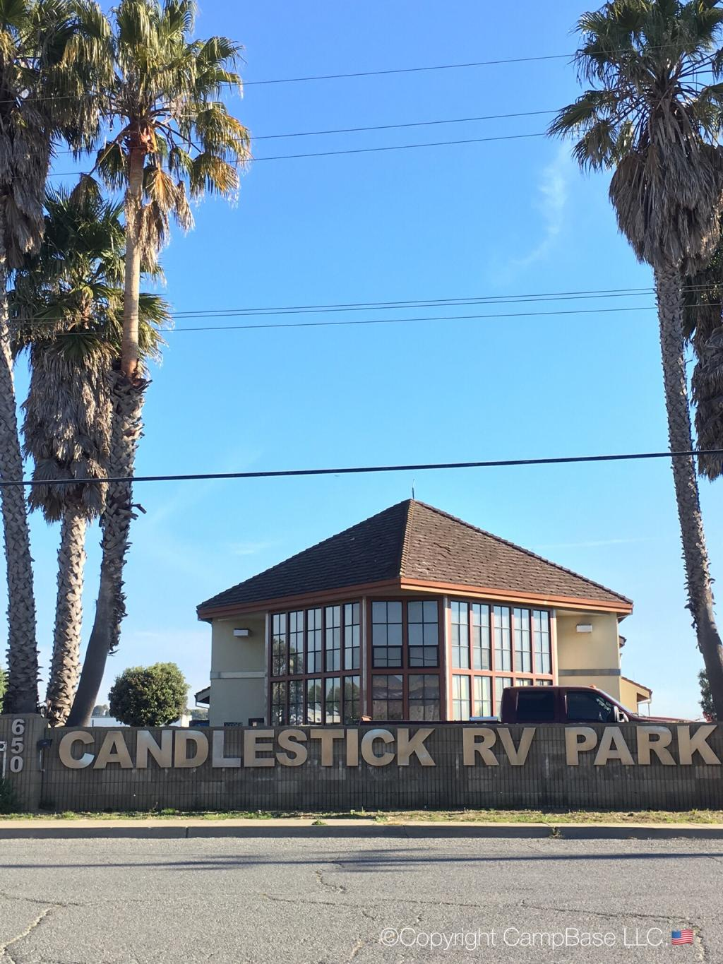 Candlestick Rv Park San Francisco California