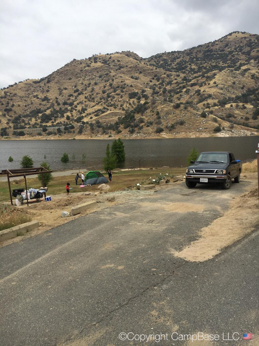 Horse Creek Campground Lake Kaweah Lemon Cove California