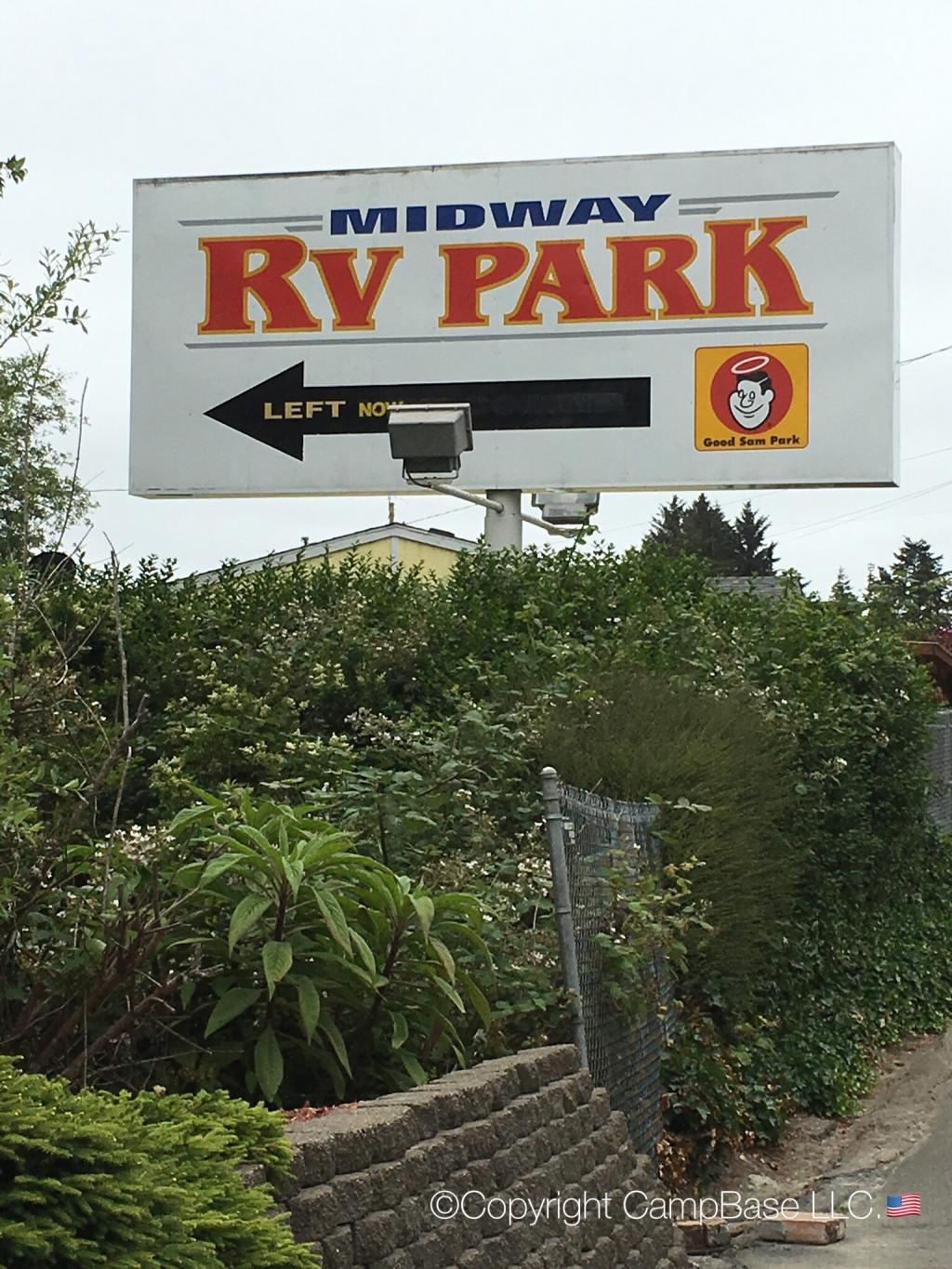 Midway Rv Park Coos Bay Oregon