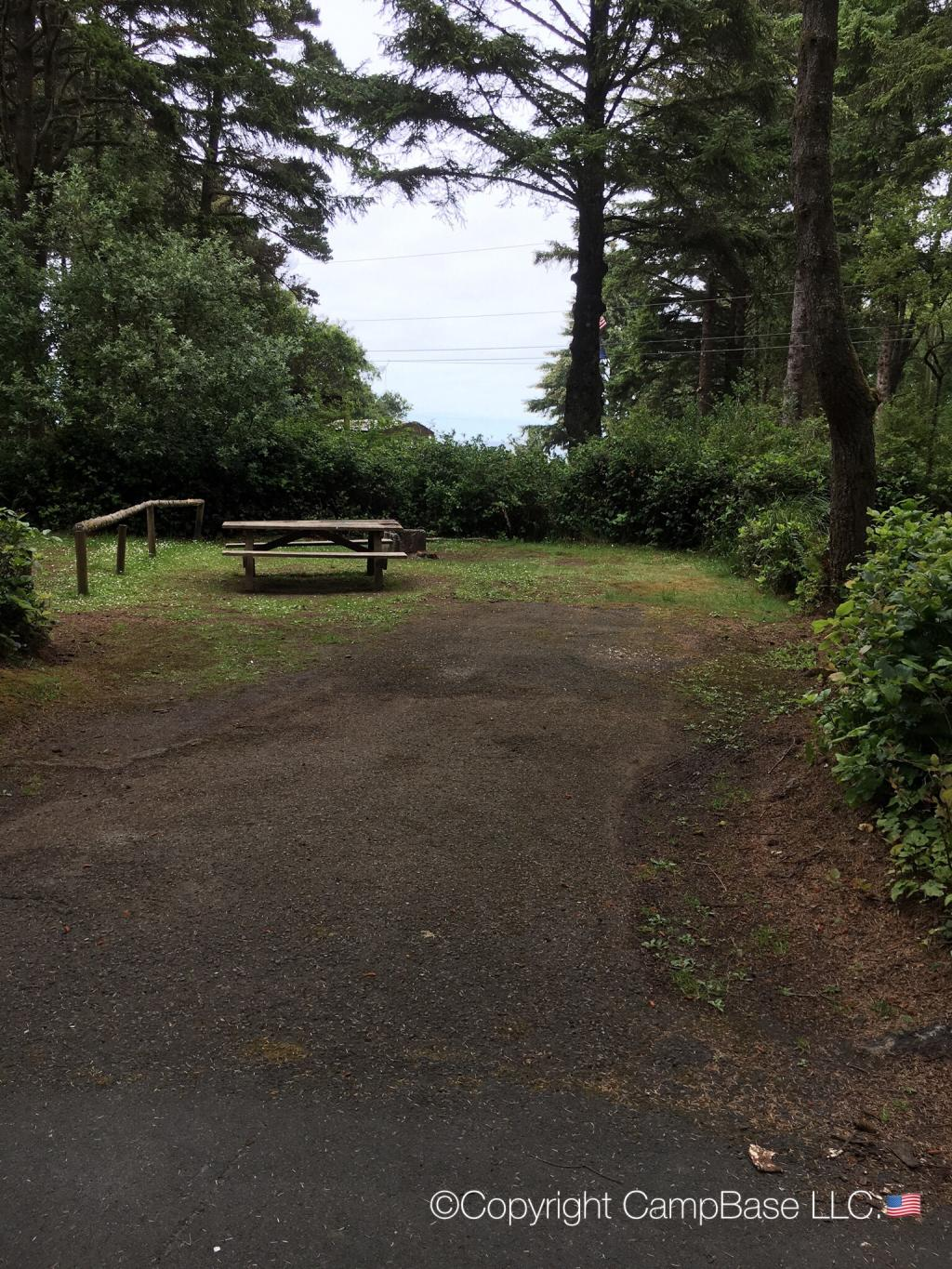 Bastendorff Beach Campground Coos County Coquille Oregon
