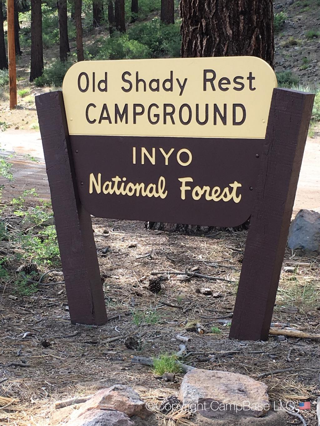 Old Shady Rest Campground, MAMMOTH LAKES, California