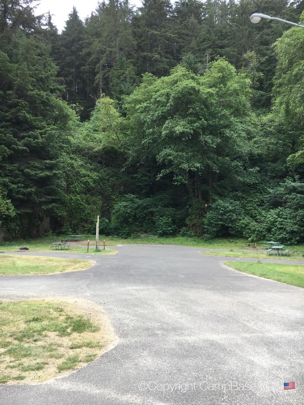 Windy Cove Campground Section B ,Reedsport ,Oregon