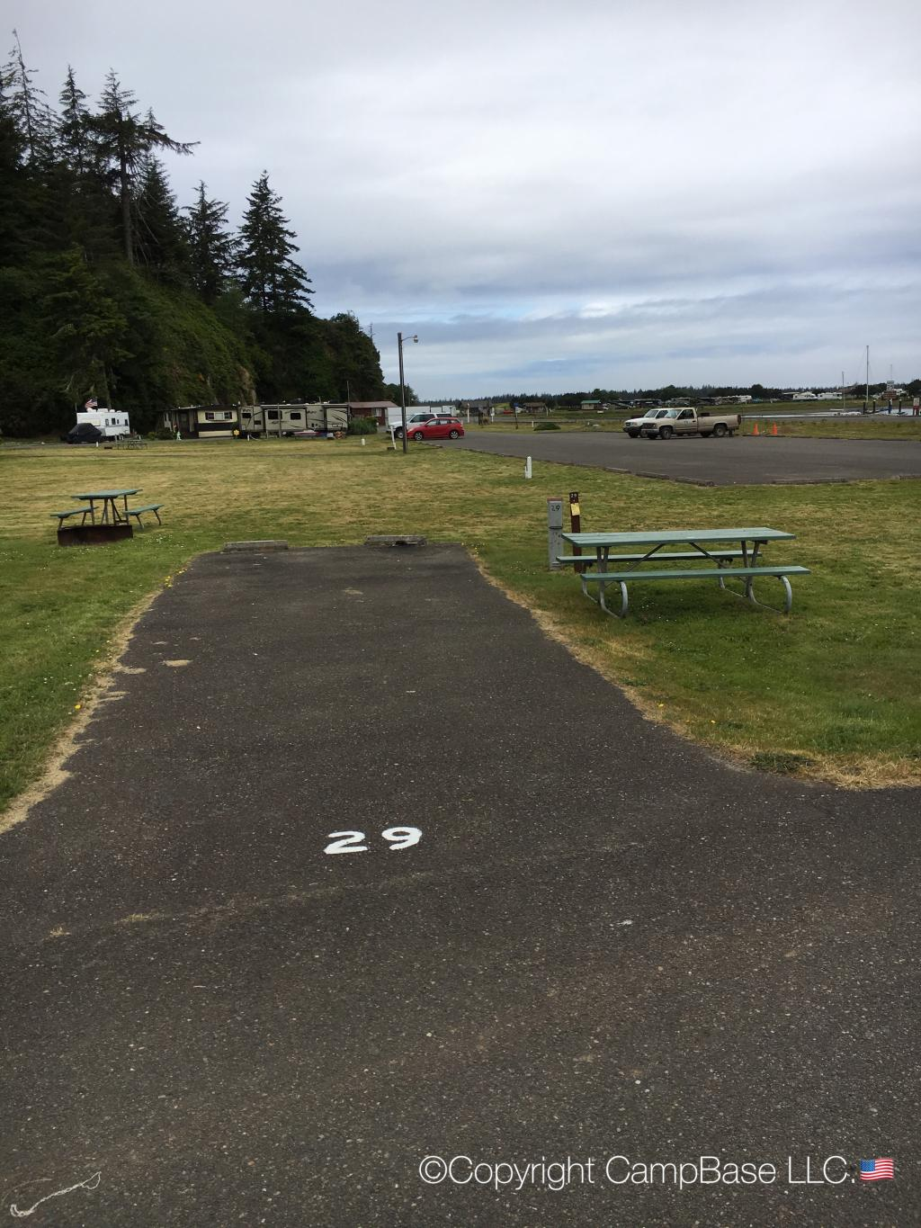 Windy Cove Campground Section A Reedsport Oregon