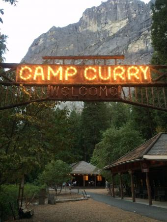 Camp Curry Yosemite National Park