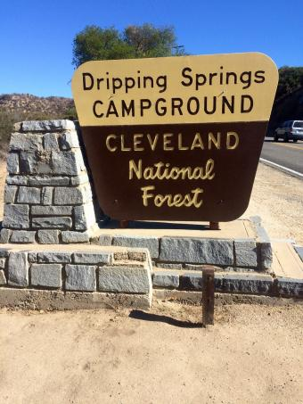 Dripping springs campground temecula