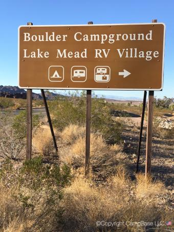 Boulder Beach Campground Lake Mead NRA
