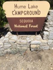 Hume Lake Campground / Sequoia NP