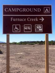 Furnace Creek Campground Death Valley NP
