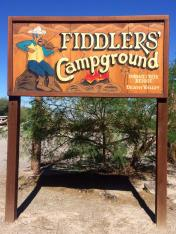 Fiddlers Campground Death Valley NP