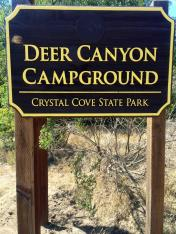 Deer Canyon Campground Crystal Cove SP