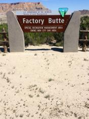 Factory Butte Recreation Area