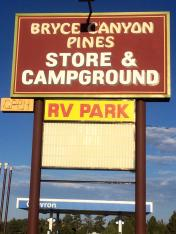Bryce Canyon Pines Store and Campground