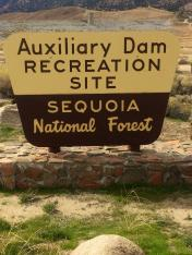 Auxiliary Dam Recreation Site