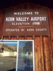 Kern Valley Airport Campground