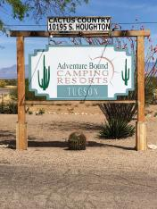Colossal Cave Mountain Park Campground Vail Arizona