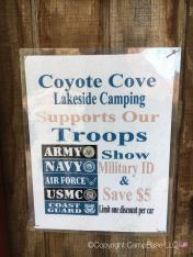 Coyote Cove Lakeside Camping Lake Elsinore California
