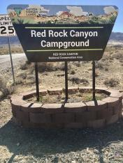 Red Rock Canyon Campground NCA